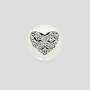 Bat Love Mini Button