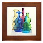 Violin Bottles Photo #3 Framed Tile