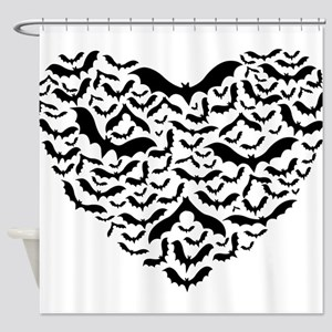 Bat Love Shower Curtain