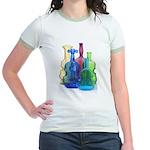 Violin Bottles Photo #3 Jr. Ringer T-Shirt