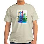 Violin Bottles Photo #3 Light T-Shirt