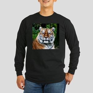 MAJESTIC TIGER Long Sleeve Dark T-Shirt
