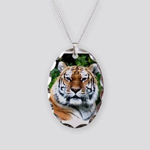 MAJESTIC TIGER Necklace Oval Charm