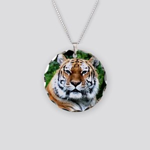 MAJESTIC TIGER Necklace Circle Charm