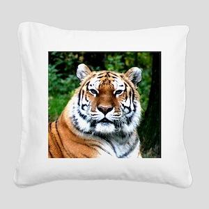 MAJESTIC TIGER Square Canvas Pillow