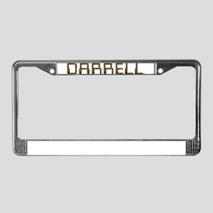 Darrell Circuit License Plate Frame