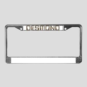 Desmond Circuit License Plate Frame