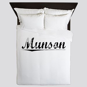 Munson, Vintage Queen Duvet