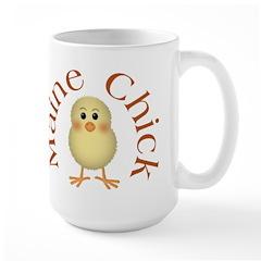 Maine Chick Large Mug