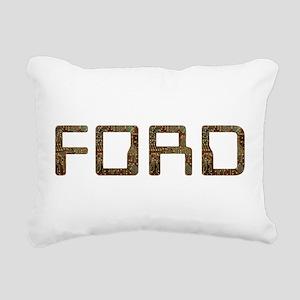 Ford Circuit Rectangular Canvas Pillow