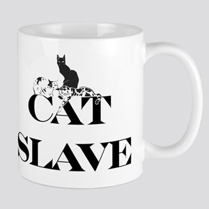Cat Slave 11 oz Ceramic Mug