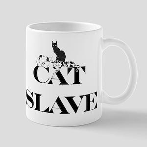 Cat Slave 11 oz Ceramic Mug