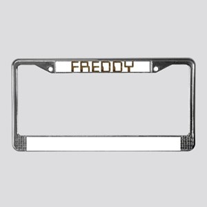 Freddy Circuit License Plate Frame