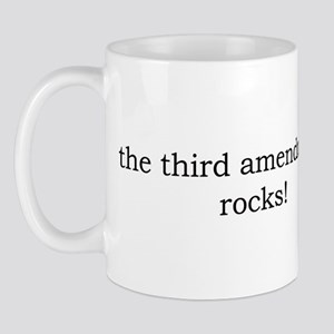 The 3rd Amendment Rocks Mug