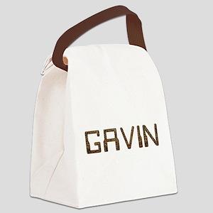 Gavin Circuit Canvas Lunch Bag