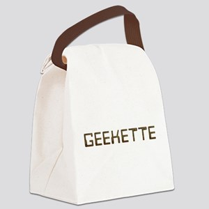 Geekette Circuit Canvas Lunch Bag