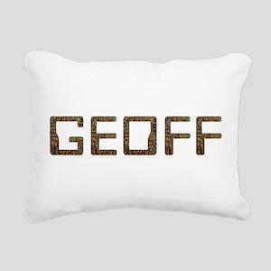 Geoff Circuit Rectangular Canvas Pillow