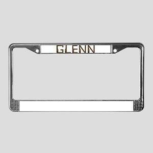 Glenn Circuit License Plate Frame