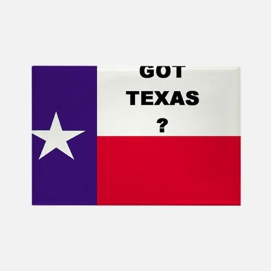 Got Texas ? Rectangle Magnet