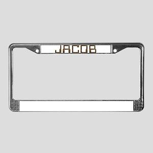 Jacob Circuit License Plate Frame