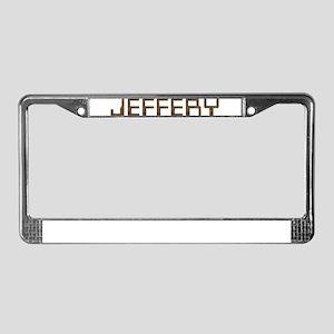 Jeffery Circuit License Plate Frame