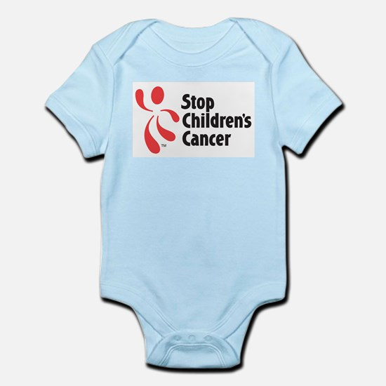 Stop Children's Cancer Logo Infant Bodysuit
