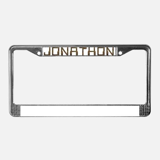 Jonathon Circuit License Plate Frame