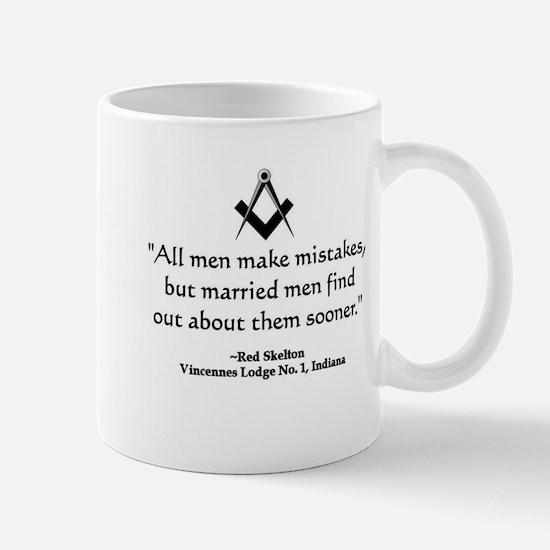 Red Skelton Quote Mug