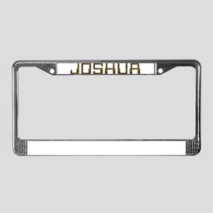 Joshua Circuit License Plate Frame
