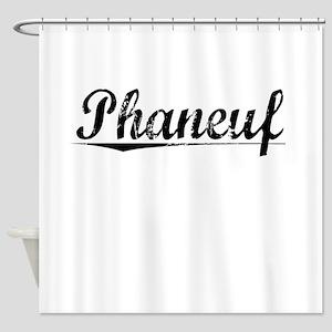 Phaneuf, Vintage Shower Curtain