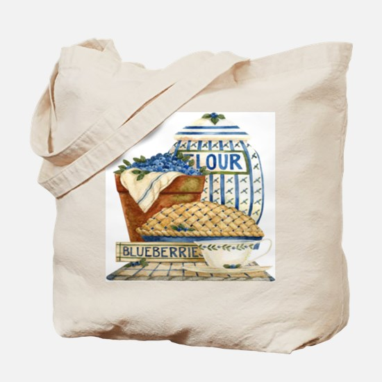 Blueberry Fixin's Tote Bag