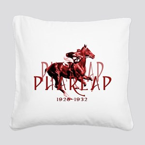 Pharlap Square Canvas Pillow