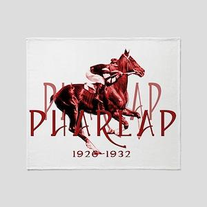 Pharlap Throw Blanket