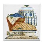 Blueberry Fixin's Tile Coaster