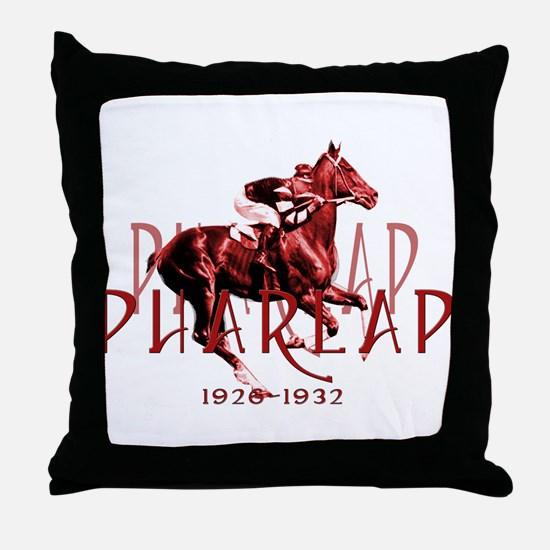Pharlap Throw Pillow
