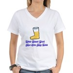 Cafepress Oktoberfest Women's V-Neck T-Shirt