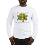 POLITICAL PRISONER Long Sleeve T-shirt