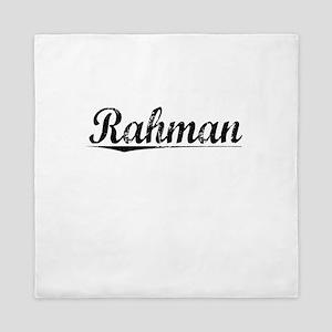Rahman, Vintage Queen Duvet