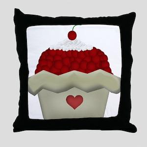 Cherry Delight Throw Pillow