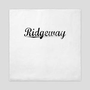 Ridgeway, Vintage Queen Duvet
