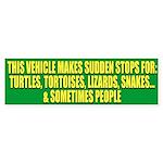 Reptile Lover Bumper Sticker