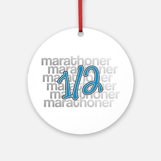 13.1 Half-Marathoner Ornament (Round)