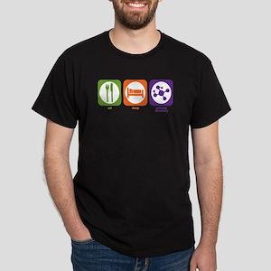 Eat Sleep Polymer Black T-Shirt
