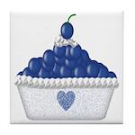 Blueberry Delight Tile Coaster