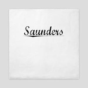 Saunders, Vintage Queen Duvet
