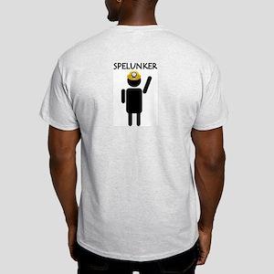 Spelunker Ash Grey T-Shirt