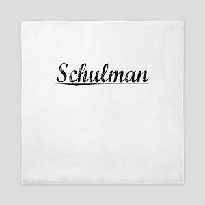 Schulman, Vintage Queen Duvet