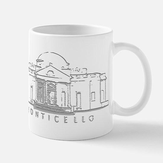 Thomas Jefferson/Monticello Mug