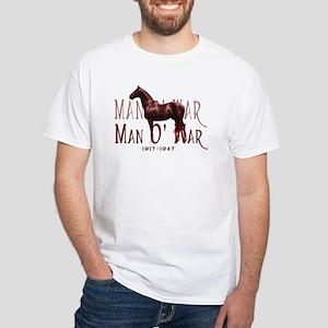 Man o War White T-Shirt