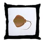 Stingray (Southern) ray Throw Pillow